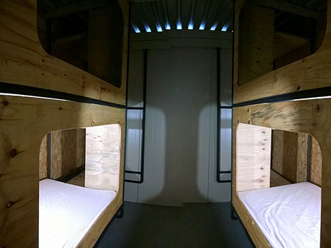 New Backpackers Bedroom With 2 Bunk Beds 4 Sleeper Price Per